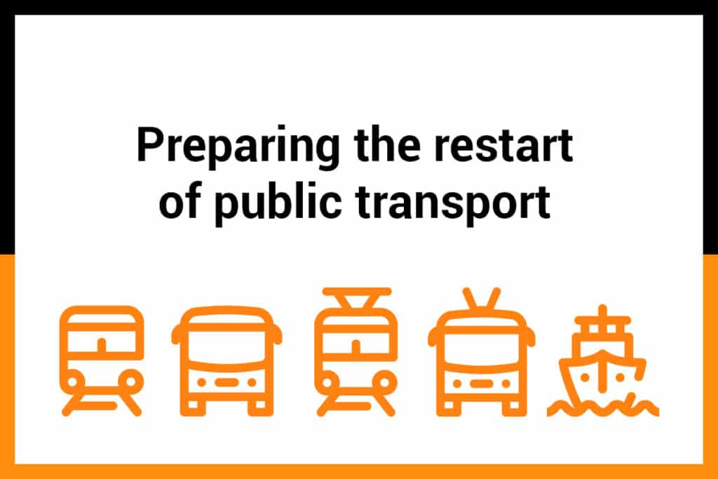 Ridango. How to prepare for the restart of public transport. Takeaways from UITP's webinar.
