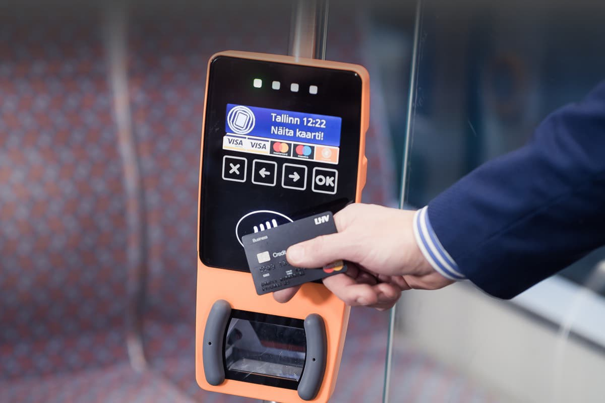 Contactless payments. Public transport soultions. Ridango
