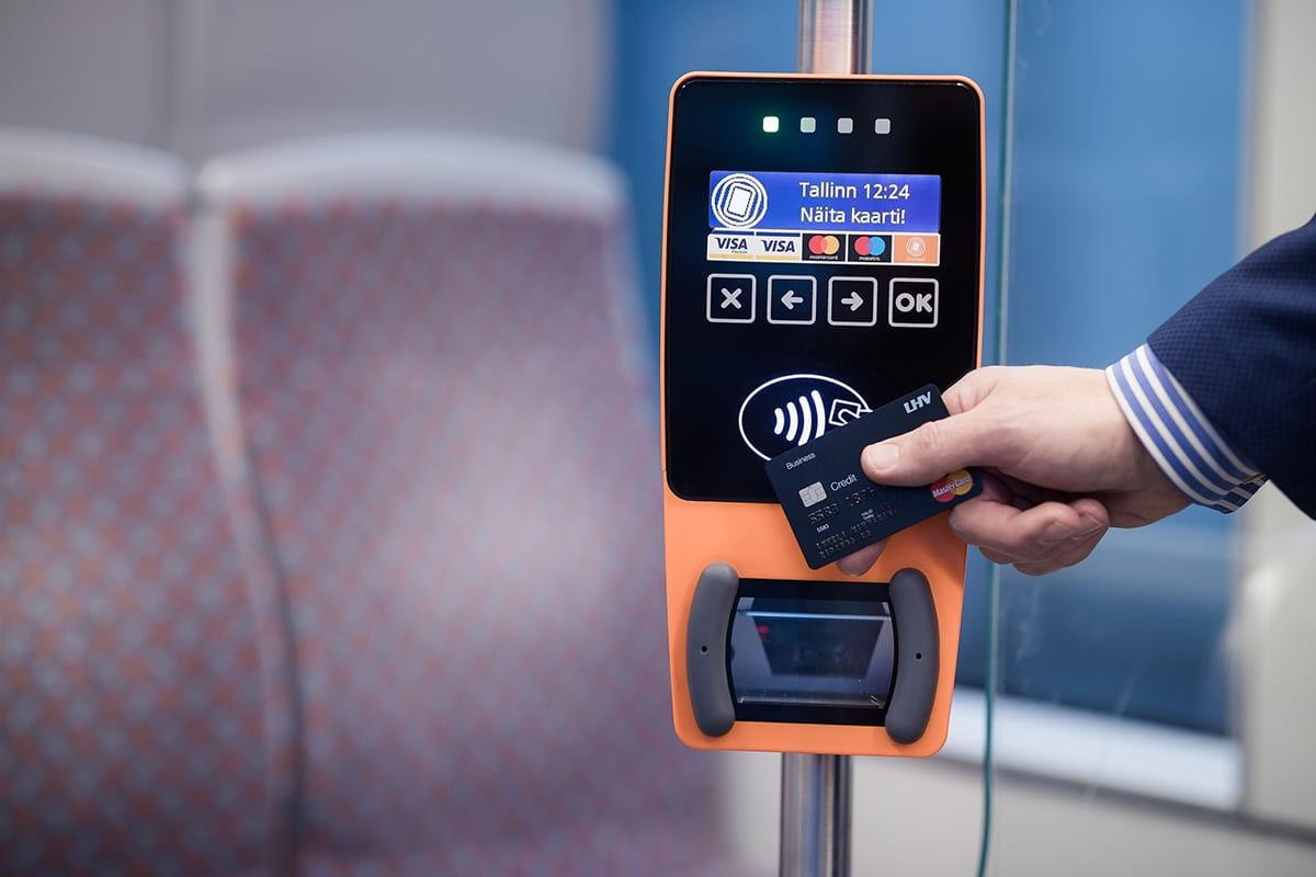 Ridango contactless ticketing validator